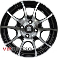 Racing Wheels H-470 6x14 4x98 ET38 DIA58.6 Black