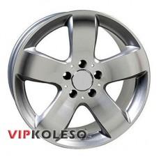 Replica Mercedes (CT1406) 7x15 5x112 ET40 DIA66.6 Hyper Silver (Cупер серебро)