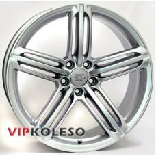 WSP Italy Audi (W560) Pompei 9x20 5x112 ET29 DIA66.6 Silver (Серебро)