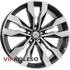 WSP Italy Volkswagen (W470) Cobra 8.5x20 5x112 ET38 DIA0 Black polished (Черный с полированной лицевой частью)