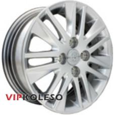 Replica Toyota (CT2228) 5.5x15 4x100 ET45 DIA67.1 Hyper Silver (Cупер серебро)