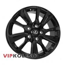 Replica Lexus LX4001 8.5x21 5x150 ET54 DIA110.1 Black